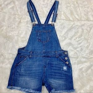 Vanilla Star denim overalls, juniors size large